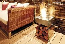 Fireplaces / Fireplaces that will get you lost in the dancing flicker of the flames while enhancing the look of your home.