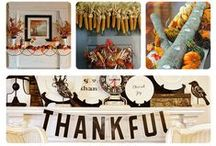 "Thanksgiving Ideas for the Home / Get ideas for Thanksgiving, whether it's your first home or you've been there ""forever."" Thanksgiving recipes, Thanksgiving decorations and more! / by AmeriFirst Home Mortgage"