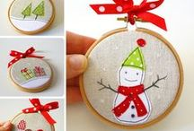 Christmas/art ornaments / by Michele Clarke