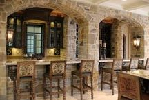 Beautiful Bars / Bar design ideas for unwinding and uncorking at home.