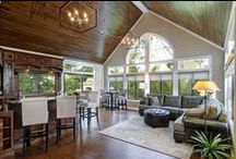 Great Rooms / Design ideas for a dramatic great room.