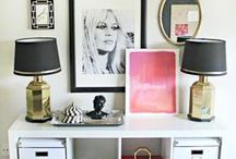 APARTMENT DECOR / Kitchen, bedroom, office, and living room inspiration for your apartment decor!