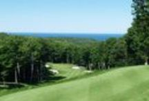Birchwood Farms Golf and Country Club / 1600 acres outside of Harbor Springs, MI with 27 holes of pristine golf, 10 soft clay tennis courts, swimming pool, practice ranges, pro shops, dining options, cross country ski trails, hiking and snow show trails, state of the art fitness center.