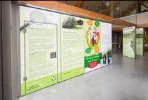 Moveable Panel walls en print ideas / A flexible perspective on space