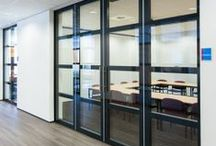 Moveable Glass Walls / The unlimited possibilties with glass