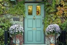 Front Doors & Front Porches / Inspiring front doors & front porches