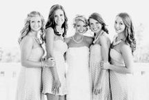 The Bride & her Bridesmaids