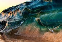 Waves and Surfing / Waves, sand, surfing...