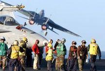 Aircraft Carrier Flight Deck Crew