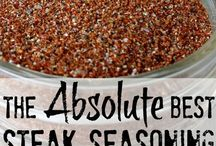 Dry Rubs, Spices, Marinades & Seasonings / Seasonings