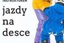 Snowboard - lekcje jazdy na desce / Technika jazdy na desce, wskazówki dla instruktorów snowboardu.