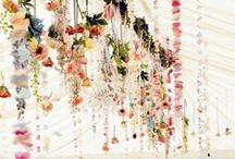 Hanging Decor & Garlands / by ~ Fleur de Lace Wedding and Events ~