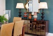 Dining Rooms by John Croft Design / A collection of images showing various Dining Rooms that John Croft Design have designed and decorated.