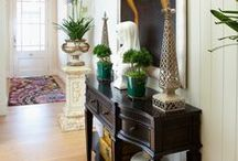 Entry's by John Croft Design. / Various entry's designed and decorated by John Croft Design.
