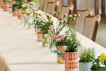 Centerpieces and Wreaths