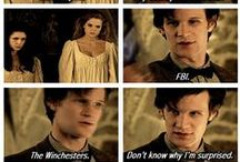 SuperWhoLock / For the TV shows Supernatural, Doctor Who, and Sherlock