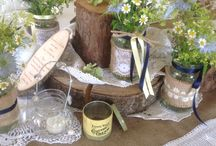 Tinkerjo Rustic Styling / Tinkerjo Table Styling, Wedding Favours, Menu Cards, Wedding Decor.  Contact Tinkerjo for more information. jeanette@tinkerjo.co.uk or visit www.tinkerjo.co.uk