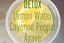 Healthy Detox Tips / Don't deprive or dehydrate your body from the nutrients or desire it needs
