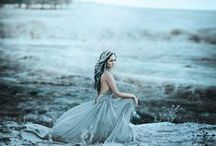 Tinkerjo Snow Queen Wedding Inspiration / Snow Queen Wedding Inspiration