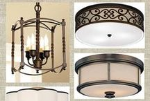 Light Fixtures / Recommended light fixtures for updating your home & getting ready to sell.
