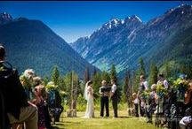 Weddings at Heather Mountain Lodge / Wedding photography by Kristen Borelli at Heather Mountain Lodge, Golden BC