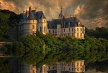 Châteaux de France et d'ailleurs / Belles demeures seigneuriales, austères aux extravagantes, période renaissance - ou autre. Voyage dans le temps, les pays, les dynasties.