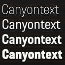 Canyon Bicycles - Corporate Font / Die neue Hausschrift für Canyon Bicycles komplettiert das von uns entwickelte Corporate Design. Abgeleitet aus der Welt des Radsports sowie der markanten Geometrie des Erscheinungsbilds transportiert sie die Haltung »Pure Cycling« konsequent in jedem Medium. #kmsteam #canyon #typographie