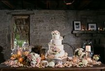 Cakes & Sweets / Wedding Cakes, sweets, desserts, and all sorts of sugary happiness!  / by Swann Soirées