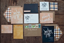Paperie / Paper creations to inspire you to create your own version of fabulous save the dates, invitations, escort cards, and other paper goods! / by Swann Soirées