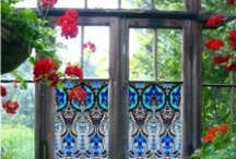 Beautiful Garden Ideas / Add sass to your garden : )