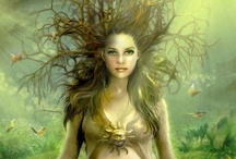"""Goddess, Deities, Spirits & Saints / """"The simplest and most basic meaning of the symbol of the Goddess is the acknowledgement of the legitimacy of female power as a beneficent and independent power"""" Carol P. Christ"""