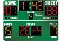 Indoor Scoreboards / Indoor scoreboards, portable scoreboards, and multi-sport scoreboards. http://www.headcoachsports.com/scoreboards/indoor-scoreboards