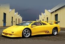 Lamborghini Diablo / a high-performance mid-engined sports car that was built by Italian automaker Lamborghini between 1990 and 2001. It was the first Lamborghini capable of attaining a top speed in excess of 200 miles per hour (320 km/h). After the end of its production run in 2001, the Diablo was replaced by the Lamborghini Murciélago.