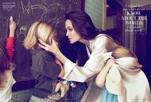 """Angelina / """"People say that you're going the wrong way when it's simply a way of your own.""""  ~ Angelina Jolie"""