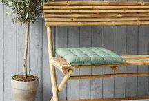 Outdoor - Udendørs hygge og funktion / Ideer til hyggelige og funktionelle udendørsgaver og hvis haven bare mangler et lille løft.