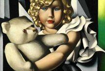 Tamara De Lempicka / Tamara Rosalia Gurwik, pittrice polacca nacque a Varsavia il 16 maggio 1898.
