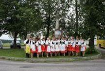Lidový tanec / spolek tancující Českou Besedu a další lidové tance