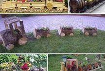 Květinové nápady /  Vše na zahradu nebo ke zkrášlení domu