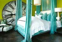 DESIGN - BEDR. BLUE/GREEN / by Alejandra Mejia