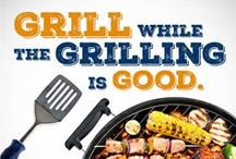 Grill while the Grilling is Good! / We are all enjoying the summer so much, but don't forget summer doesn't last forever.  If you haven't gotten behind a grill yet we definitely have you covered.  #HowardHome #ShopHowardStore