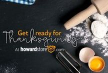 Thank you for Thanksgiving / Get ready for thanksgiving with HowardStore.com.  We have a wide selection of kitchen appliances that would make any meal prep easy.