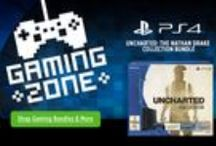 Howard Store Gaming Zone / No need to shop for in-store deals. We have deals on all your favoring gaming devices. From #XBox to #PlayStation 4 we have it all, shipped right to your door. #ShopHowardStore   http://www.howardstore.com/landing/GamingZone.cfm