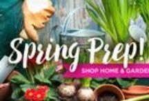Spring Prep! Shop Home & Garden