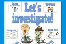SCIENCE TREASURES! / Great collection of ideas for when you are ready to teach a science lesson!