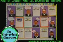 MLK TREASURES! / Want a quick idea to celebrate Martin L. King Day?  These ideas will be easy to do with your students.