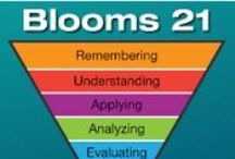 BLOOMS and More TREASURES! / Anything to do with Blooms Taxonomy (original or revised) or teaching to higher levels of learning.