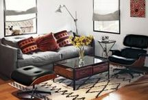 Living Room Inspiration / Spaces to dream, and to think, and to be / by Fireclay Tile