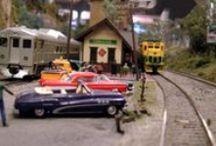 MR~ Rural Scene / Model railroad scene ideas