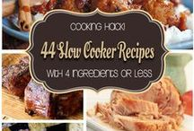 SLOW COOKER TREASURES! / A collection of slow cooker recipes for those LONG teaching days - like every day!