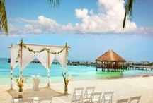 Isla Mujeres Weddings / Isla Mujeres is a beautiful destination for your special day.  Get married on our world famous North Beach (rated #14 best beach in the world!) or one of our many other stunning locations around the island.